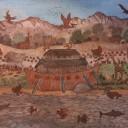 Arche de Noë. CP