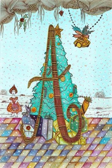 2011. Noël en alphabet