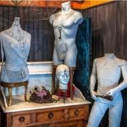 Les mannequins dans mon atelier. Photo : David Richallet