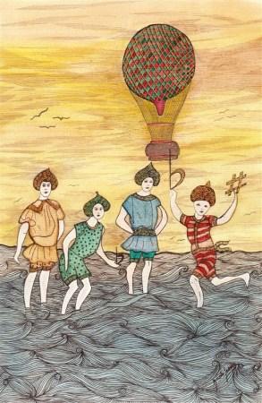 L2011. Les enfants de la mer. Poème de Jean-Paul Gavard-Perret