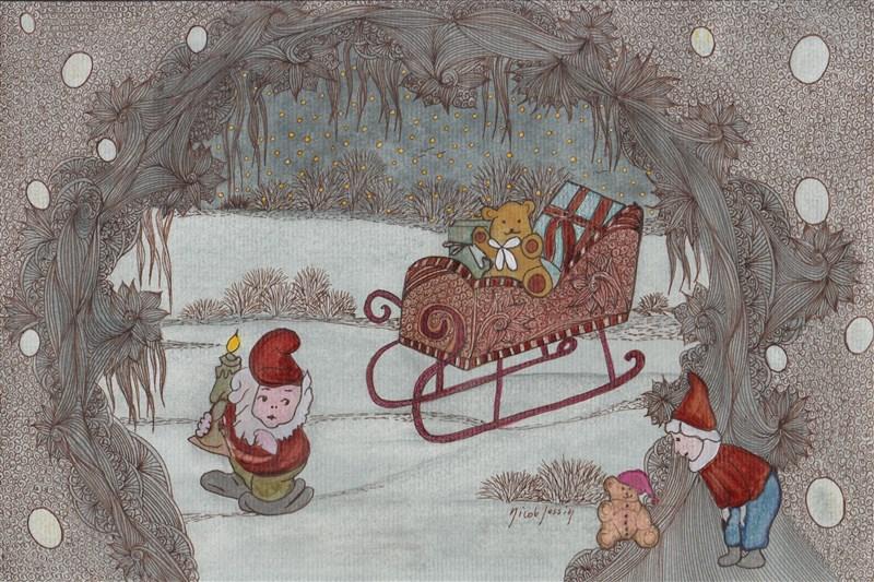 2012. Paroles de neige. Poème de Jean-Paul Gavard-Perret