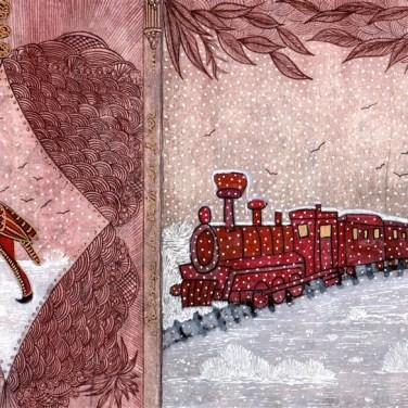 PASSAGE DU TRAIN EN HIVER