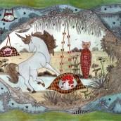 Licorne et sortilèges : le chat