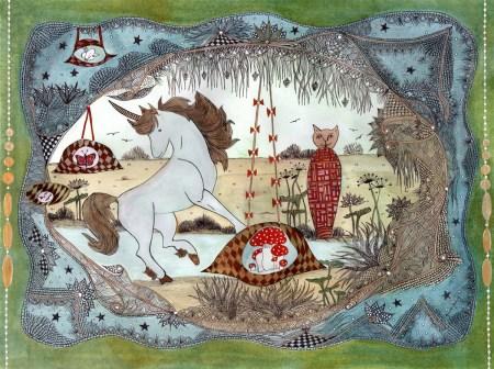 La licorne et le chat