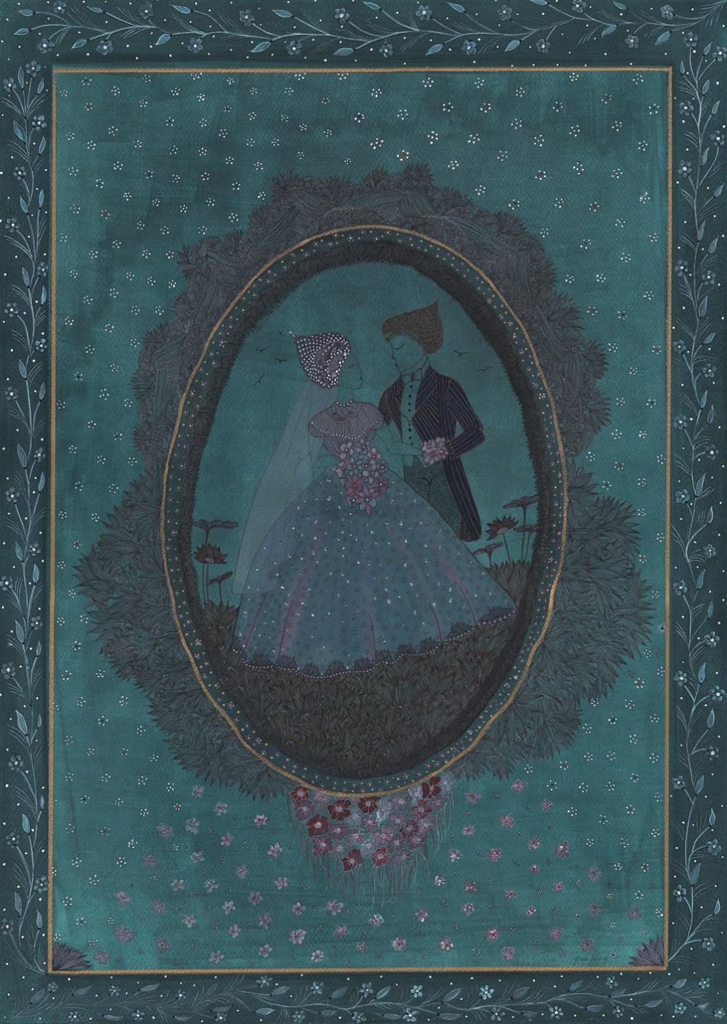 MARIES Aquarelle et encre de chine - 70 x 50 - 2016 (2)