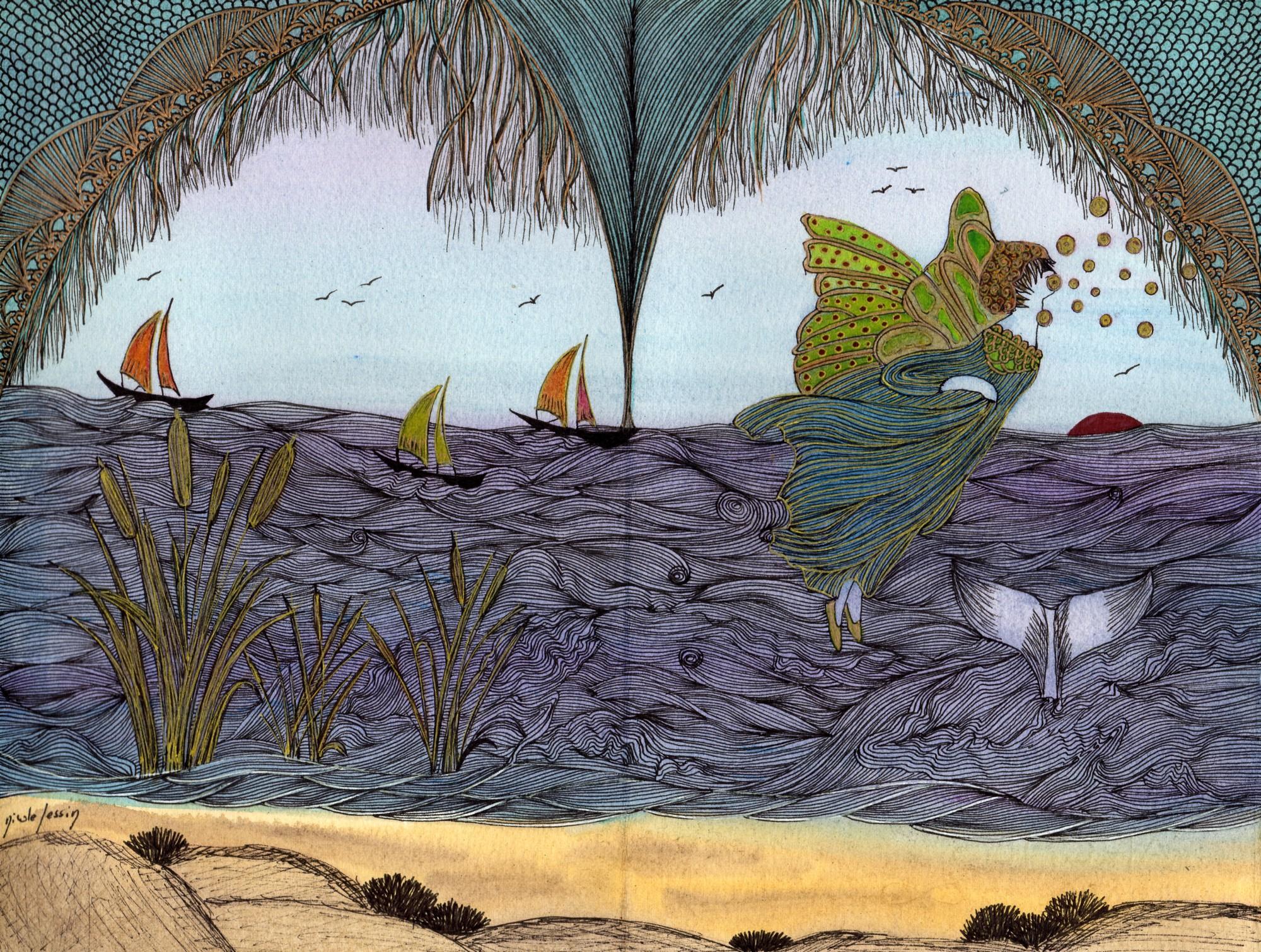 Gwenaël et la fée de la mer – Le long chemin - N° 28