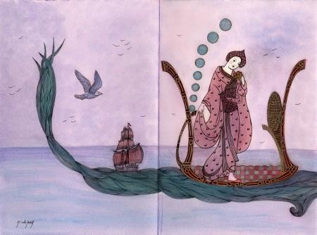 Gwenaël et la fée de la mer – Le long chemin - N° 33